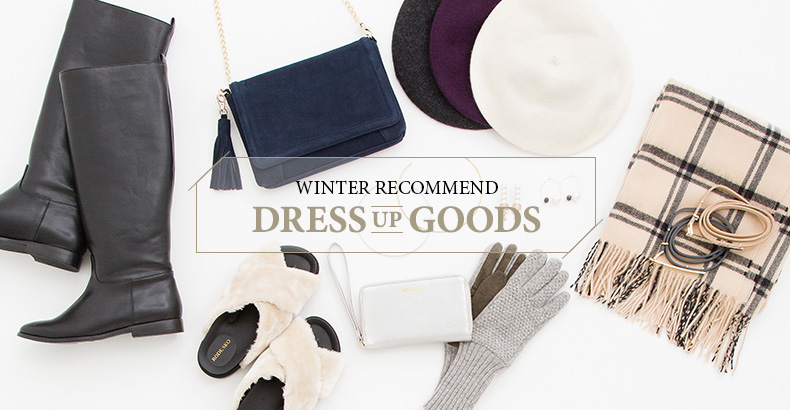 WINTER RECOMMEND DRESS UP GOODS
