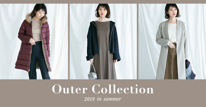 Outer Collection 2019 in summer