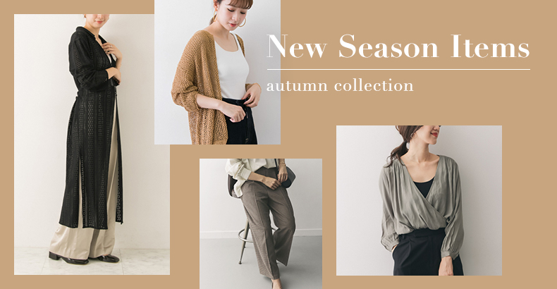 New Season Items - autumn collection -