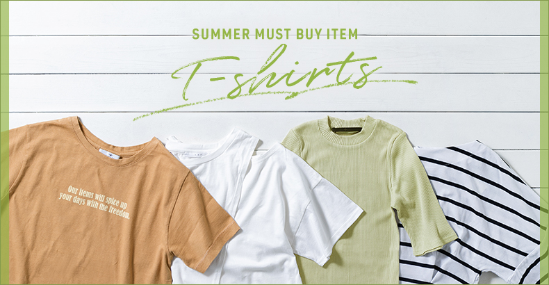 SUMMER MUST BUY ITEM T-shirts