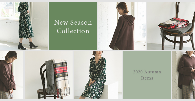 New Season Collection 2020 Autumn Items