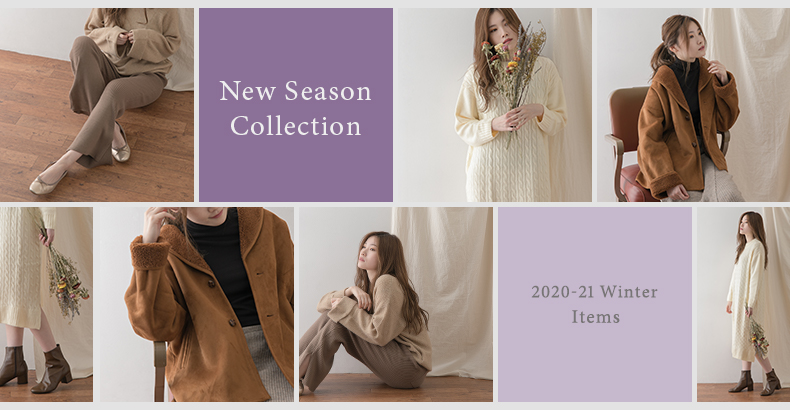 New Season Collection 2020-21 Winter Items