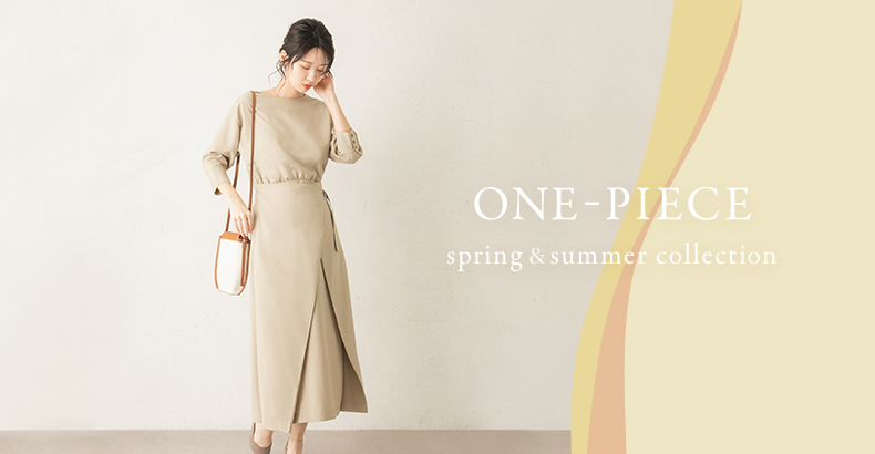 ONE-PIECE spring & summer collection