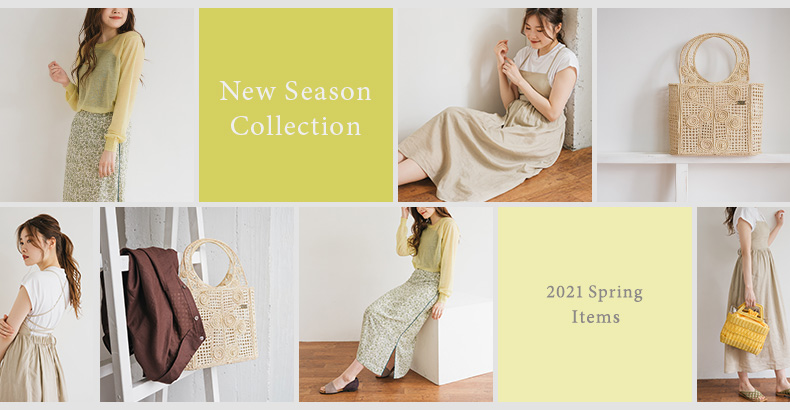 New Season Collection 2021 Spring Items